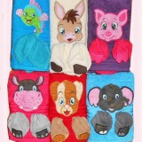 3D Animal Towels