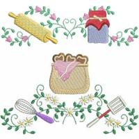 Home Work Leisure Kitchen Embroidery Designs