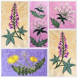 Wild Flower Squares 1