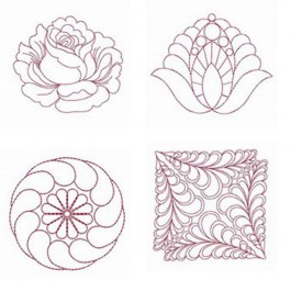 Quilt Feather Patterns