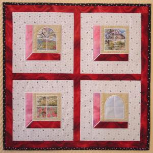 Quilt Pattern Window - My Patterns - Free Pattern Cross Stitch