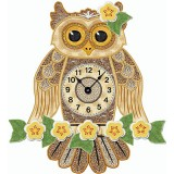 3D Horatia Owl and Clock