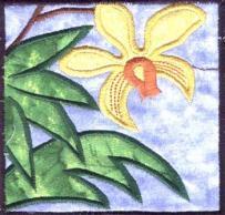 rainforest embroidered denim jacket  Mira Mikati