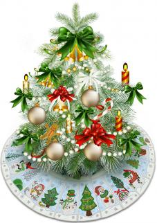 snowman christmas tree skirt 6x8 6995 - Snowman Christmas