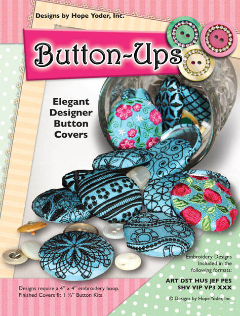 Button Ups Embroidery Designs