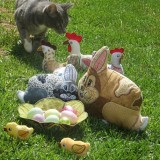 ITH Quilted Bunny & Baby