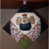 Quilted Chick Potholder