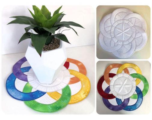 Kreative Kiwi | Secrets Of Embroidery|Winners Circle Placemat
