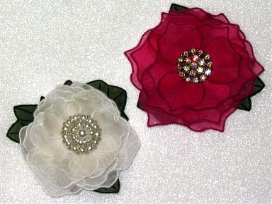 Bag Pattern with Hand Embroidery Flowers - Fine Craft Guild .com