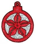 "This Free-Standing Lace Mylar Christmas ornament is another great idea from Sealed With A Stitch! This design stitches up in 20 or 30 minutes, and will make a great last-minute gift. This design is also available in our ""FSL Mylar Ornaments - 4x4"" set. Artwork by LaLa Studios. ART DST EXP HUS JEF PES VIP VP3 SHV XXX"