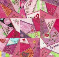 Quilting - Classics - Crazy-Patch Mittens Free Quilting