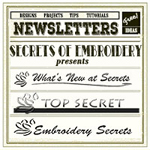 Embroidery Newsletters