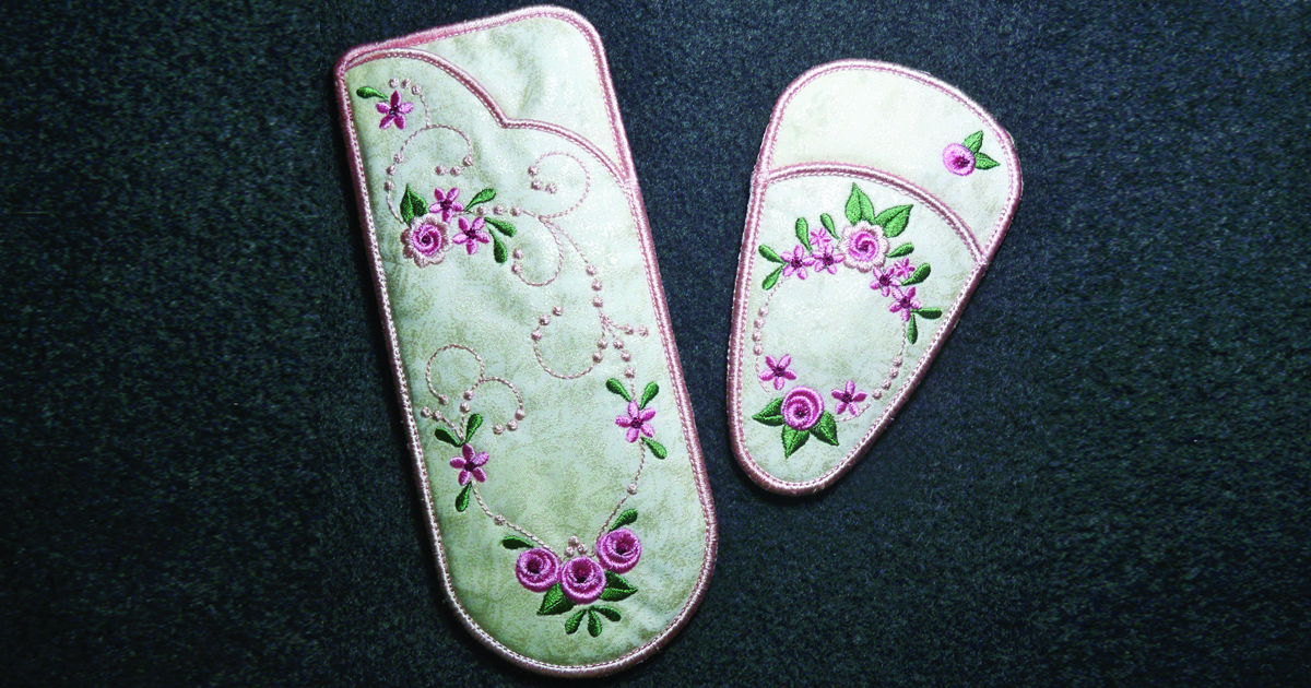Embroidered Rotary Cutting Case