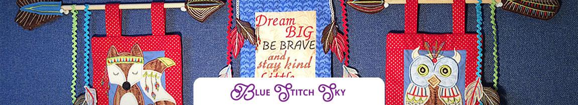 Blue Stitch Sky