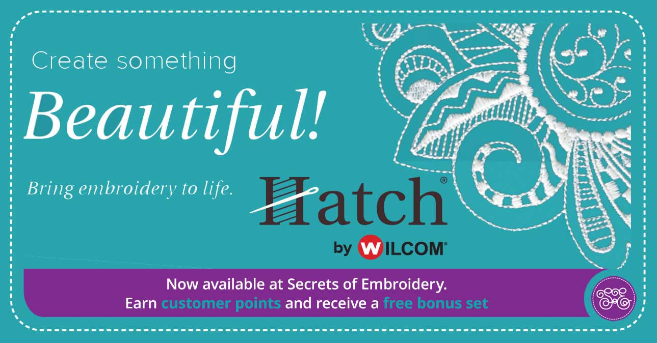 Hatch Embroidery Promotion