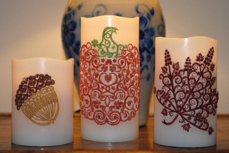 Candle Embroidery