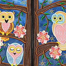 SPRING TIME OWLS
