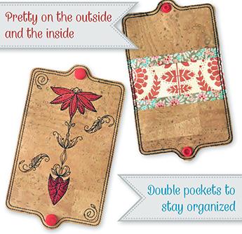 Boho Card Holder