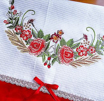 garden flower wreaths