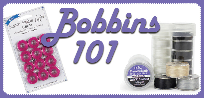 Bobbin Thread Tips for Embroidery