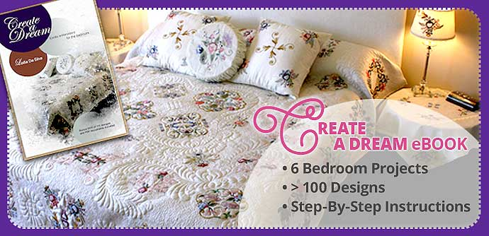 embroidery book create a dream