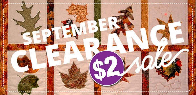 Monthly Clearance Sale