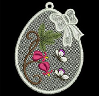easter egg embroidery