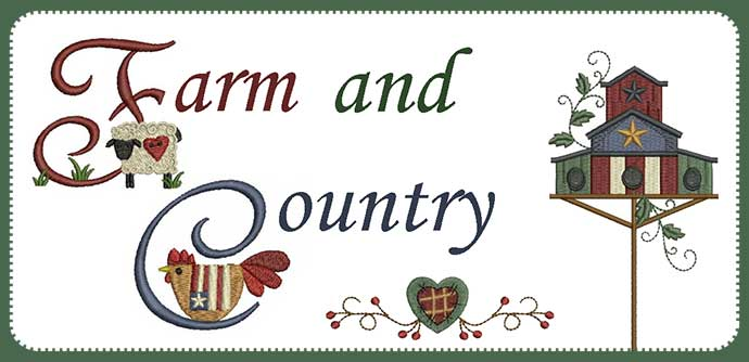 Farm and Country Embroidery