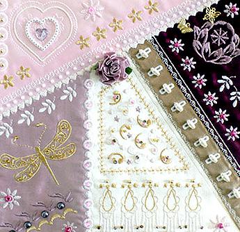 romantic crazy quilt 1