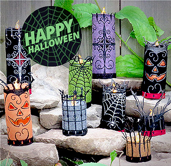 Halloween Candles 2