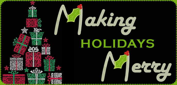Machine Embroidery Ideas for Christmas