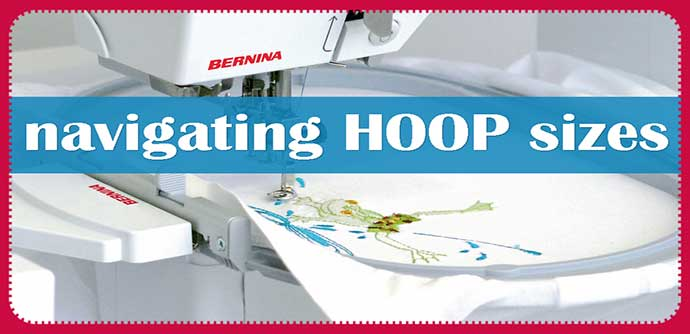 Machine Embroidery Hoops