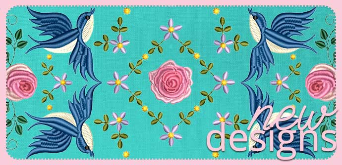 Machine Embroidery Designs | Secrets of Embroidery