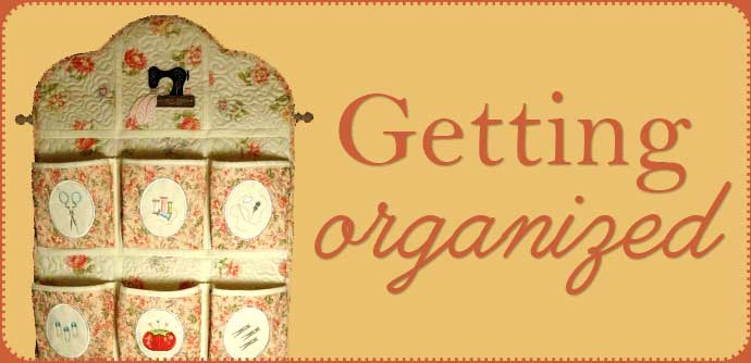 organize your embrodiery
