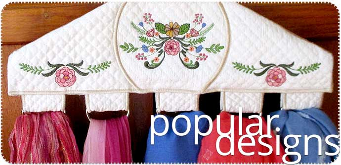 popular embroidery designs