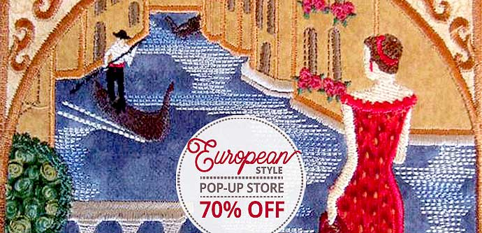 European Style Embroidery