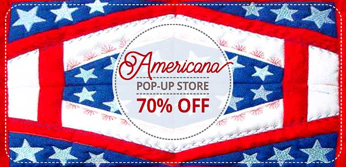 Americana Embroidery Designs