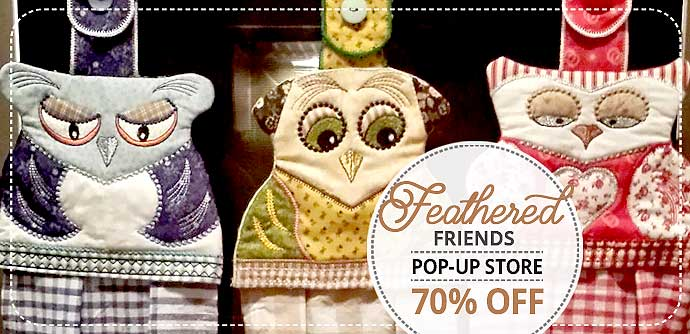 Pop-up Store Embroidery Designs
