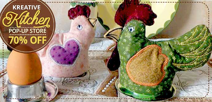 Kreative Kitchen Embroidery Designs