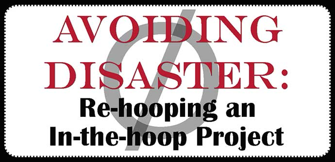 rehooping a project
