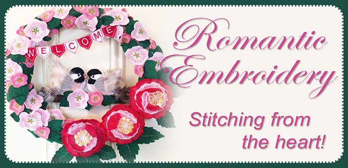 Romantic Embroidery Projects
