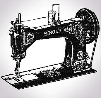 antique sewing machines 1 set
