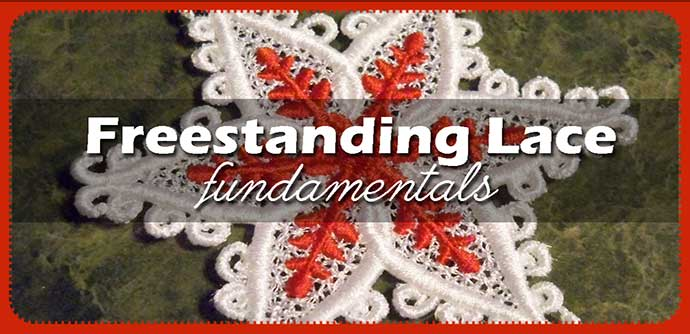 freestanding lace embroidery
