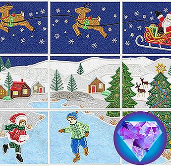 christmas sleight appliscape