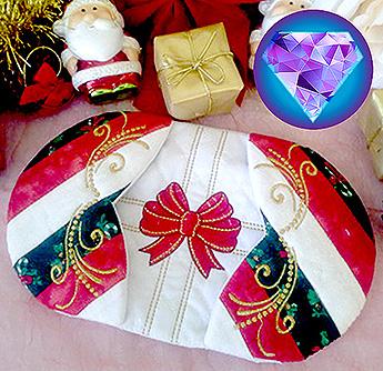 magic christmas oven mitts