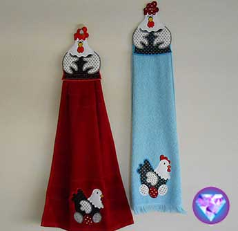Towel Toppers Set